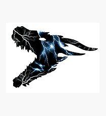 Lightning Drogon Photographic Print