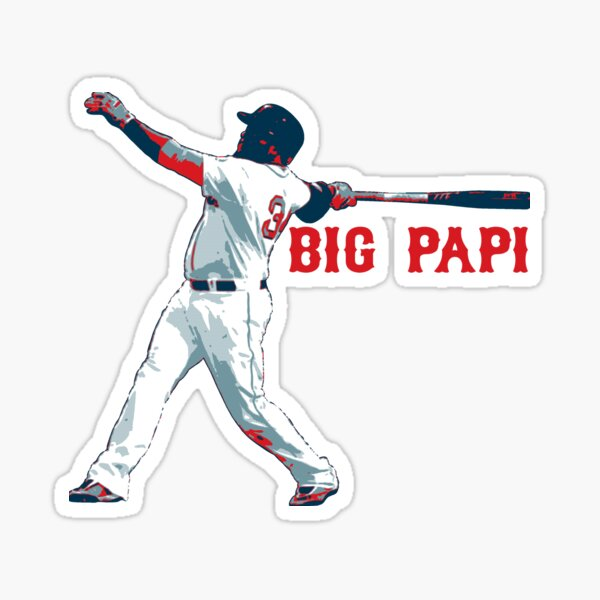 "David Ortiz - ""Big Papi"" Sticker"