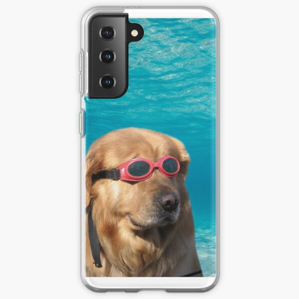 Swimmer Dog Samsung Galaxy Soft Case