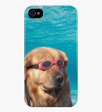 Swimmer Dog iPhone 4s/4 Case