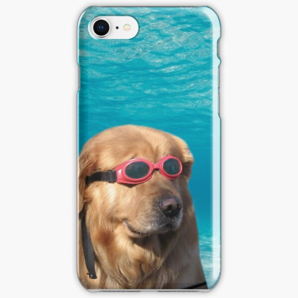 Swimmer Dog iPhone Snap Case