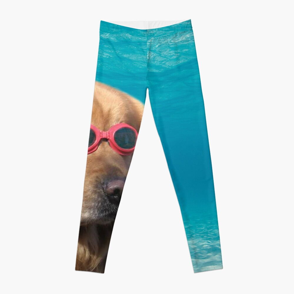 Swimmer Dog Leggings