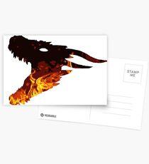 fire dragon  Postcards