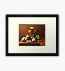 Mario Still Life Framed Print