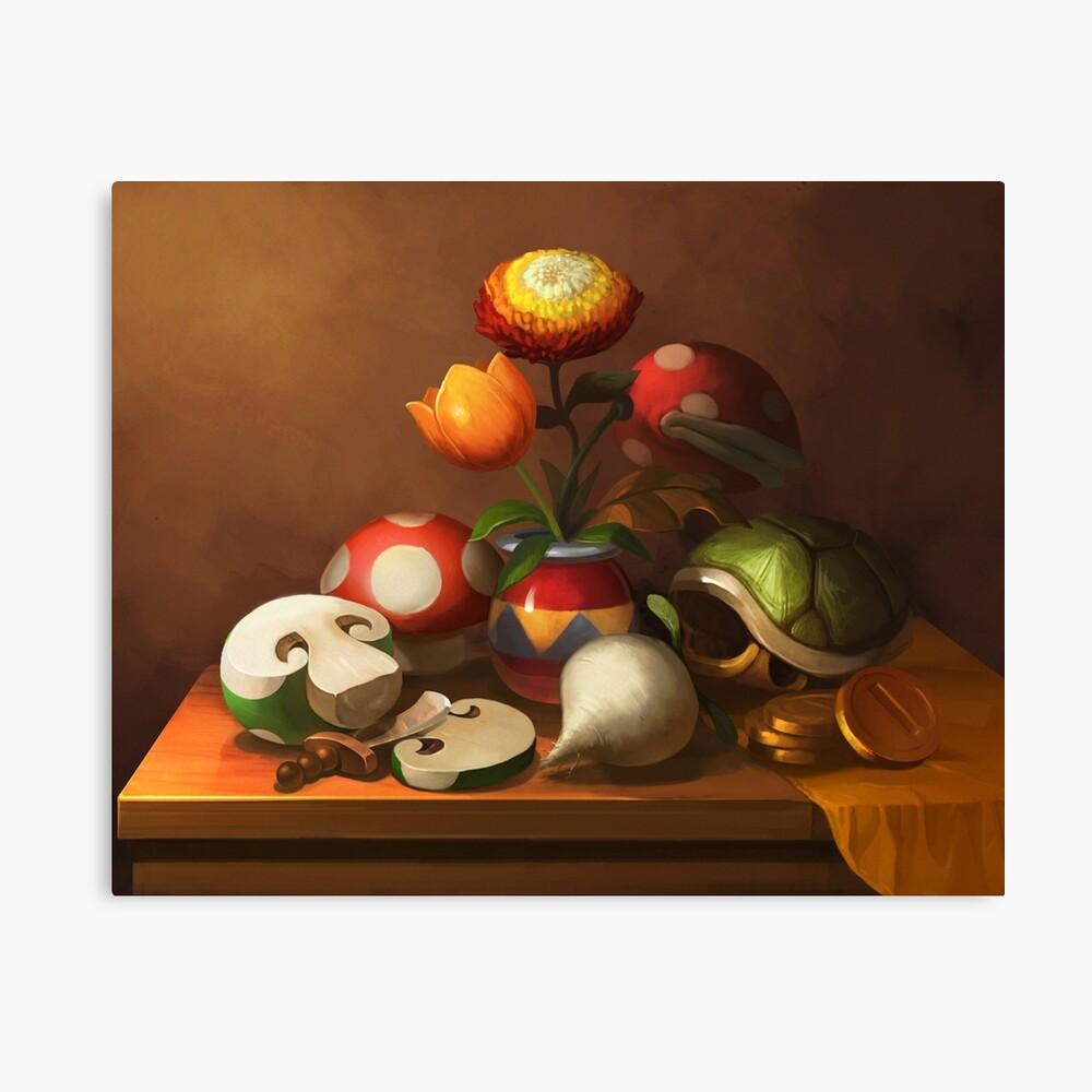 Mario Still Life Lienzo