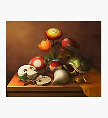 Mario Still Life Photographic Print