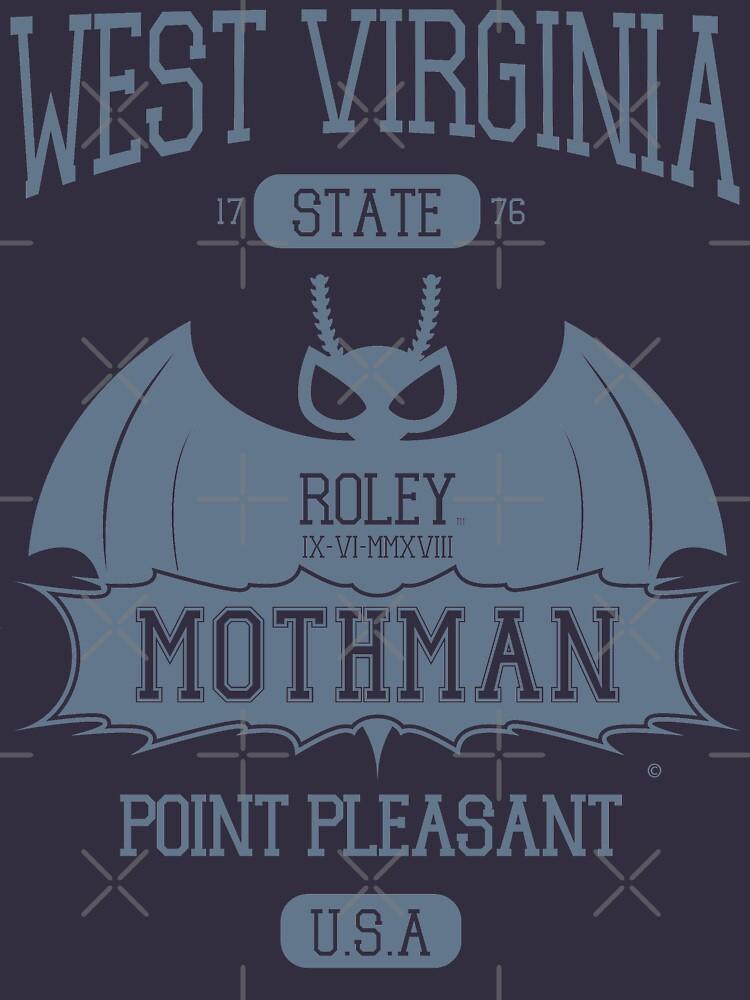 Mothman West Virginia by RoleyShop