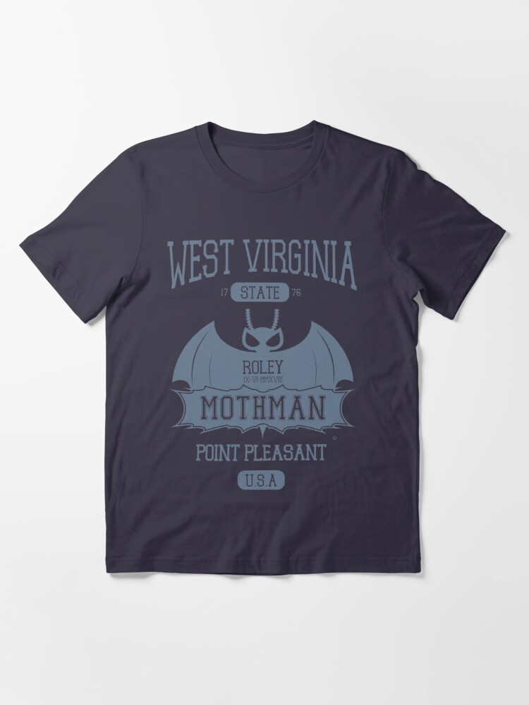 Alternate view of Mothman West Virginia Essential T-Shirt