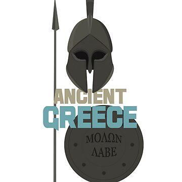 Molon labe - Spartan Warrior by portokalis