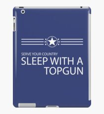 Sleep With A Topgun iPad Case/Skin