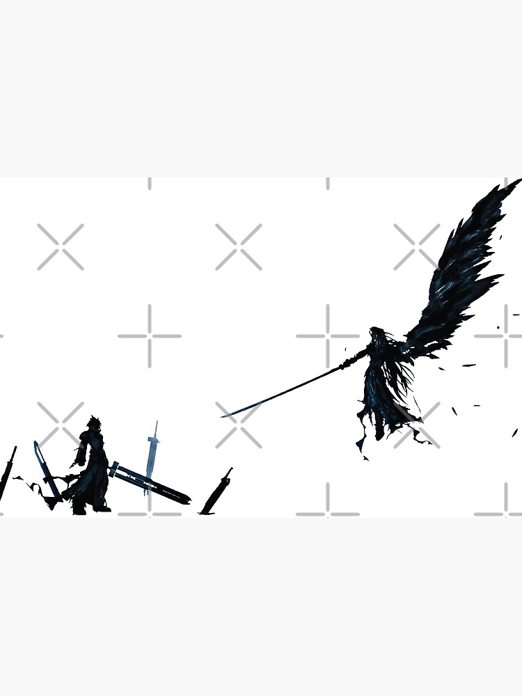 Final Fantasy Vii Advent Children Laptop Skin By Christopper