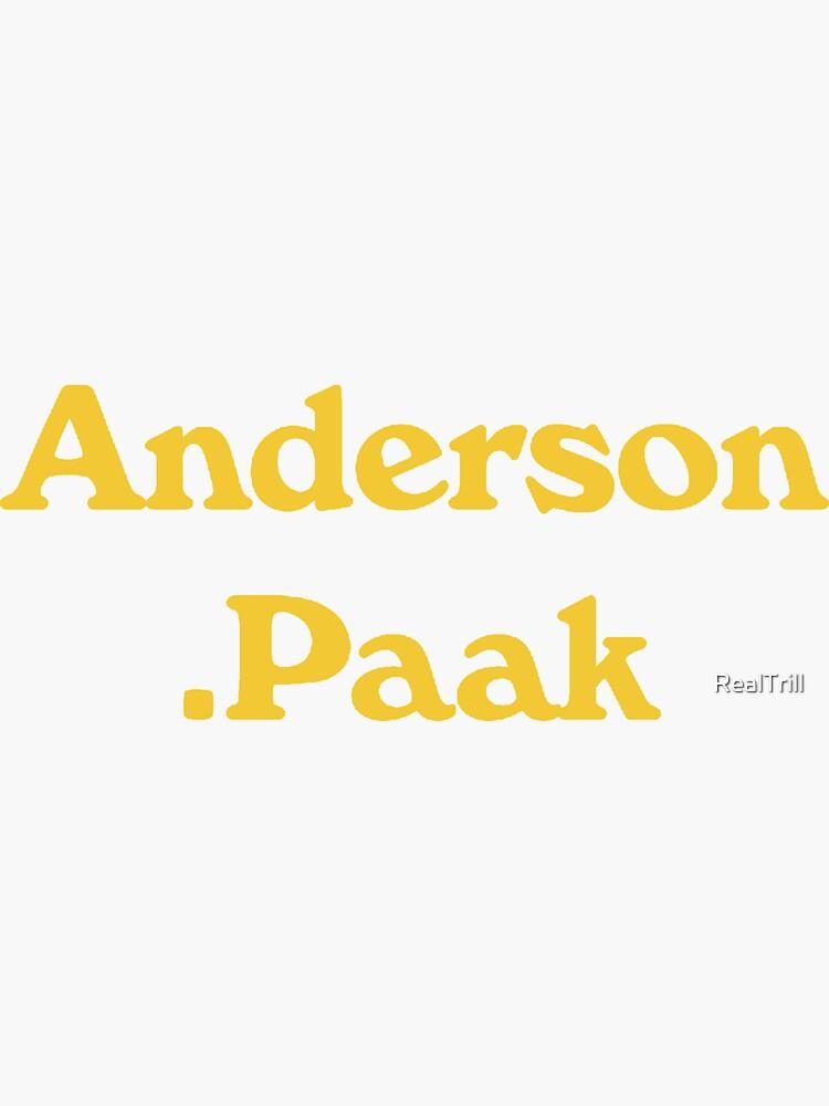Anderson von RealTrill