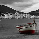 The Red Boat at Cadaques by sauldobney
