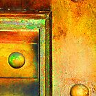 Abstract in Metal ~ Simply Riveting by Alixzandra