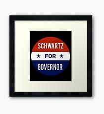 Dan Schwartz For Governor of Nevada Framed Print