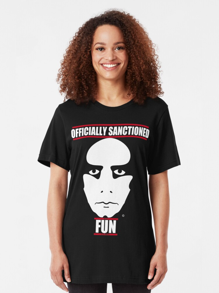 Alternate view of Officially Sanctioned Fun Slim Fit T-Shirt