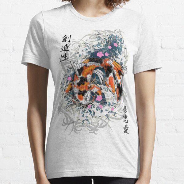 Thrashing Koi Essential T-Shirt