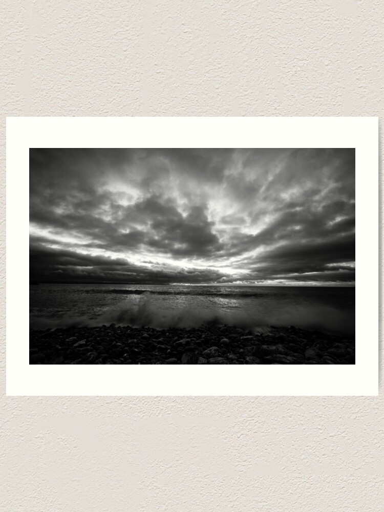 Alternate view of Dark Skies Art Print
