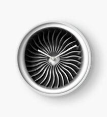Airplane Turbine clock Clock