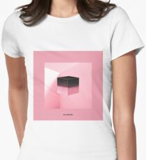BLACKPINK - SQUARE UP (PINK ver) Women's Fitted T-Shirt