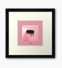BLACKPINK - SQUARE UP (PINK ver) Framed Print