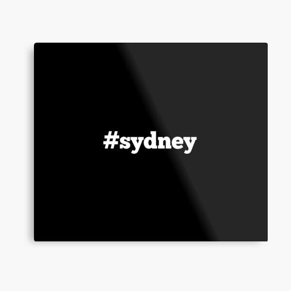 Sydney NSW Australia Metal Print