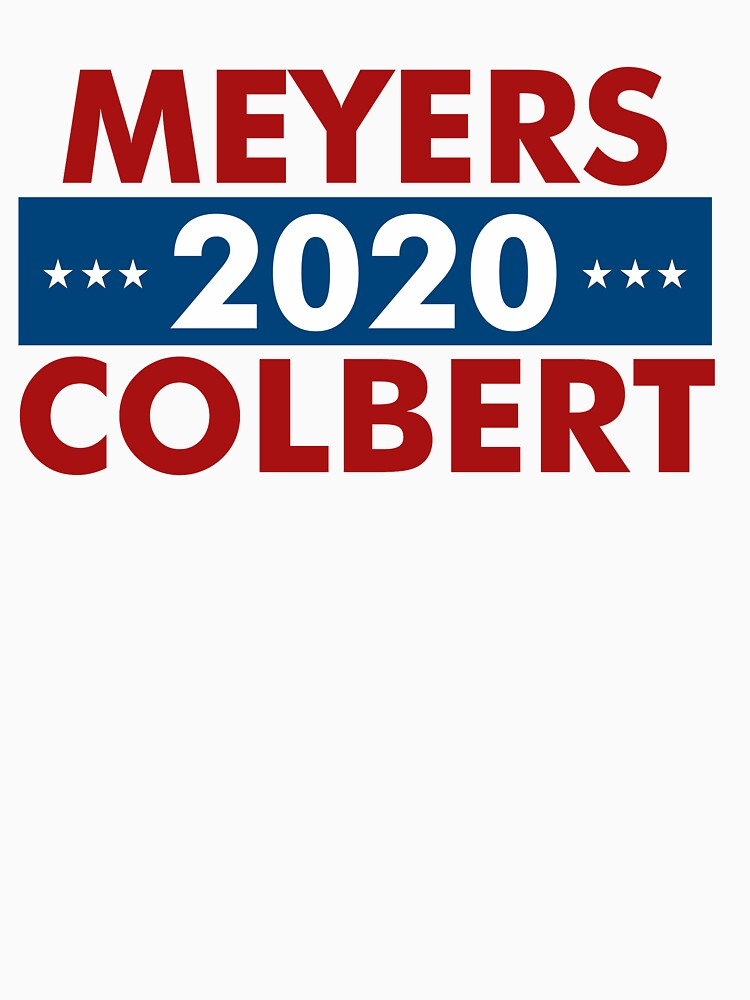 Meyers Colbert 2020 by jaylundgreen