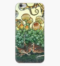 Bottled Creatures: Sleepy Flower and Bumble Pipwyrms iPhone Case