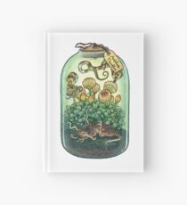Bottled Creatures: Sleepy Flower and Bumble Pipwyrms Hardcover Journal
