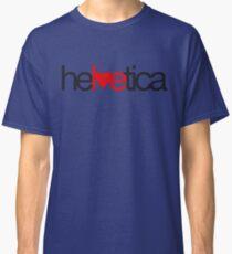 Love Helvetica Classic T-Shirt