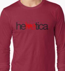 Love Helvetica Long Sleeve T-Shirt