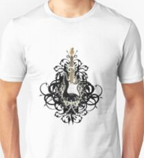 SExY  BLacK GUiTaR ReMiXEd Unisex T-Shirt