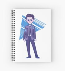 The Android Sent By CyberLife Spiral Notebook