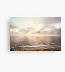 California Sunset Ocean Seascape Canvas Print