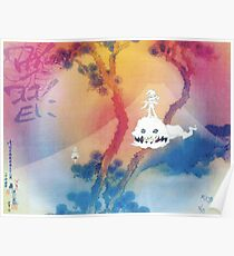 Kids See Ghosts SOmetimes Poster
