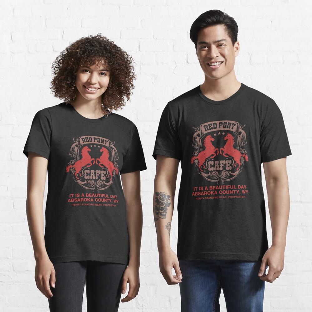 Red Pony Café - Funny Fandom Gift Essential T-Shirt
