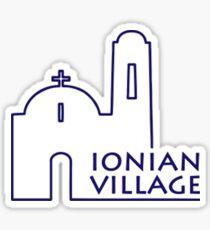 Ionian Village Sticker