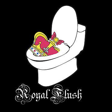 Royal Flush logo by KabaTheBear