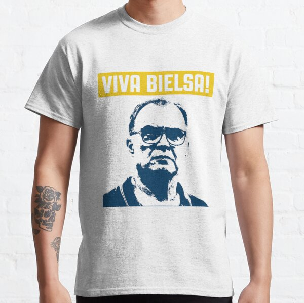 Viva Bielsa! Celebrate The Leeds Revolution | T-shirts | Mugs | Posters and more Classic T-Shirt