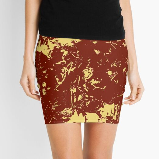 Fall Leaves Mini Skirt