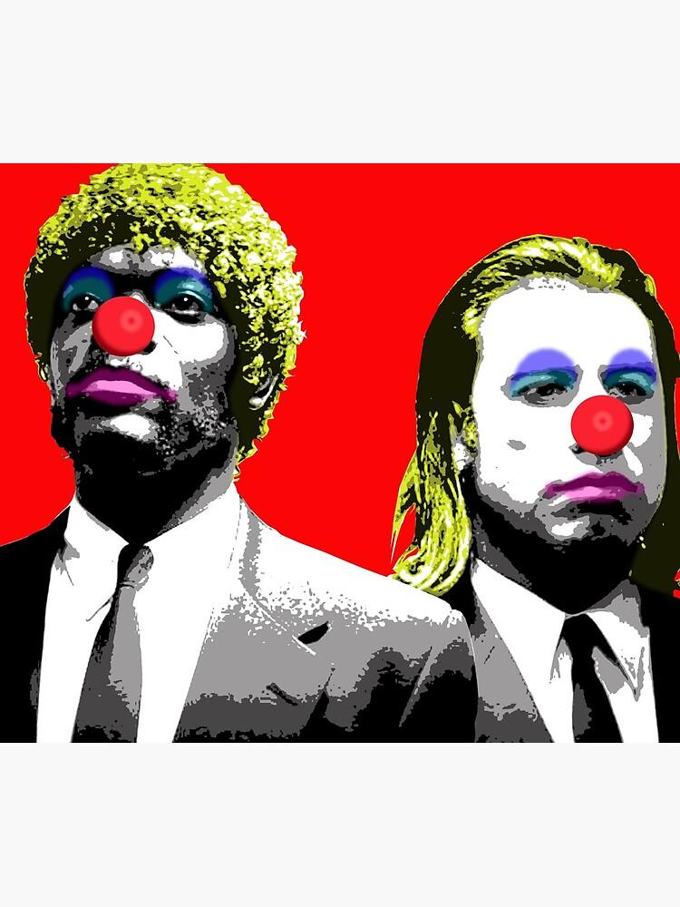 Die Clowns kommen, um dich zu bekommen - Red von garyhogben