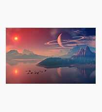 Worlds of Alienvisitor Photographic Print