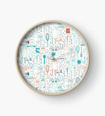 Men hobbies Clock