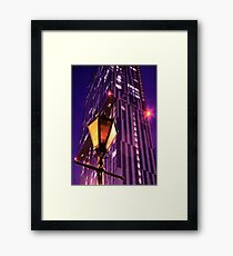 Beethan Tower Manchester Framed Print