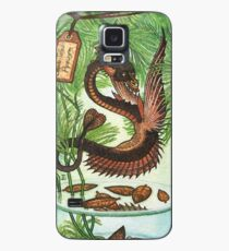 Bottled Creatures: Spade-Tailed Pipewyrm Case/Skin for Samsung Galaxy