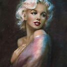 Theo's Marilyn WW Blue by TheoDanella