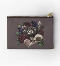 Necromancer D20 Tabletop RPG Gaming Dice Zipper Pouch