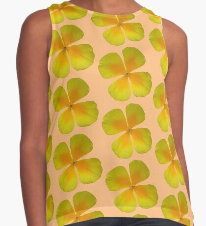 schöne gelbe Blume, Blüte, Sommer, Natur Kontrast Top