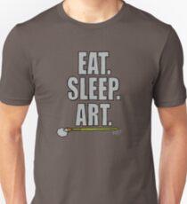 Eat Sleep Art - Shirts For Artists Slim Fit T-Shirt