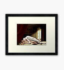 The Male Psyche Framed Print